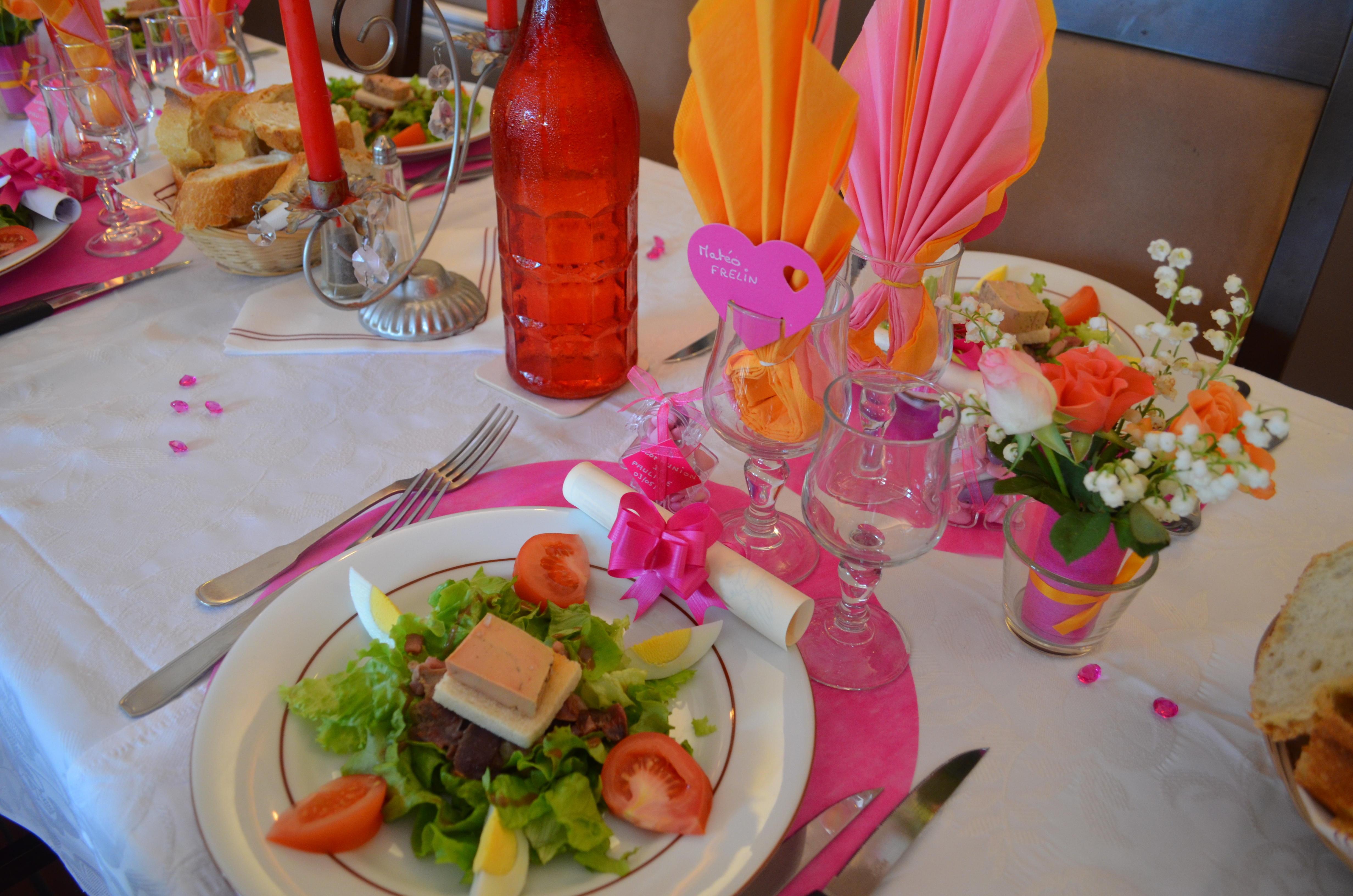 Communion  Restaurant Au Moulin du Pouy