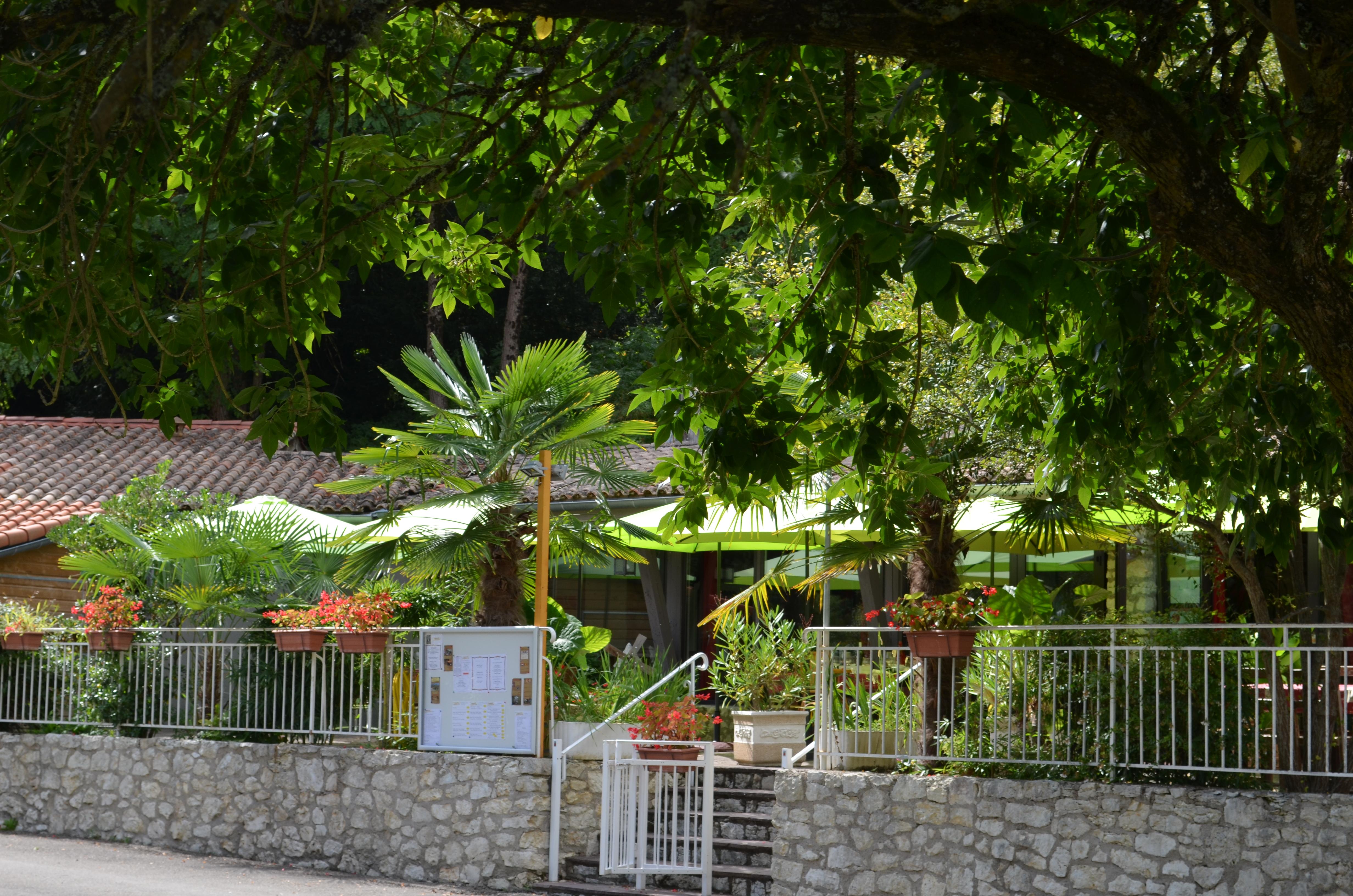 Entree du Restaurant Au Moulin du Pouy  Eauze